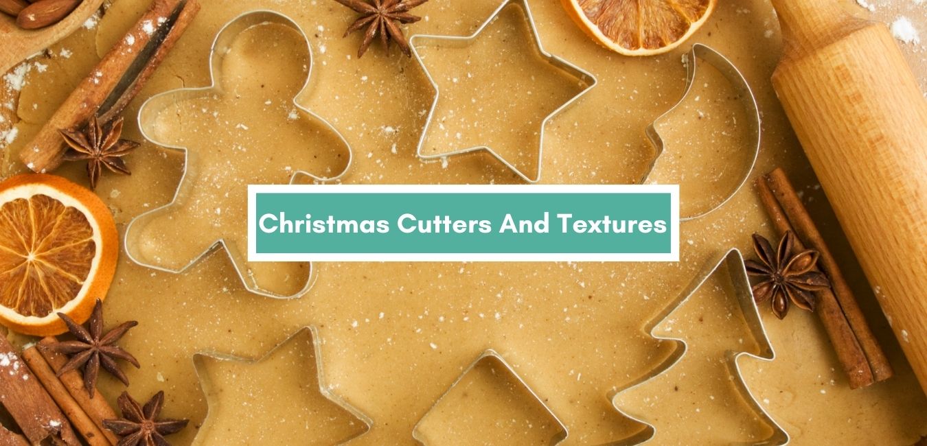 Christmas Cutters And textures