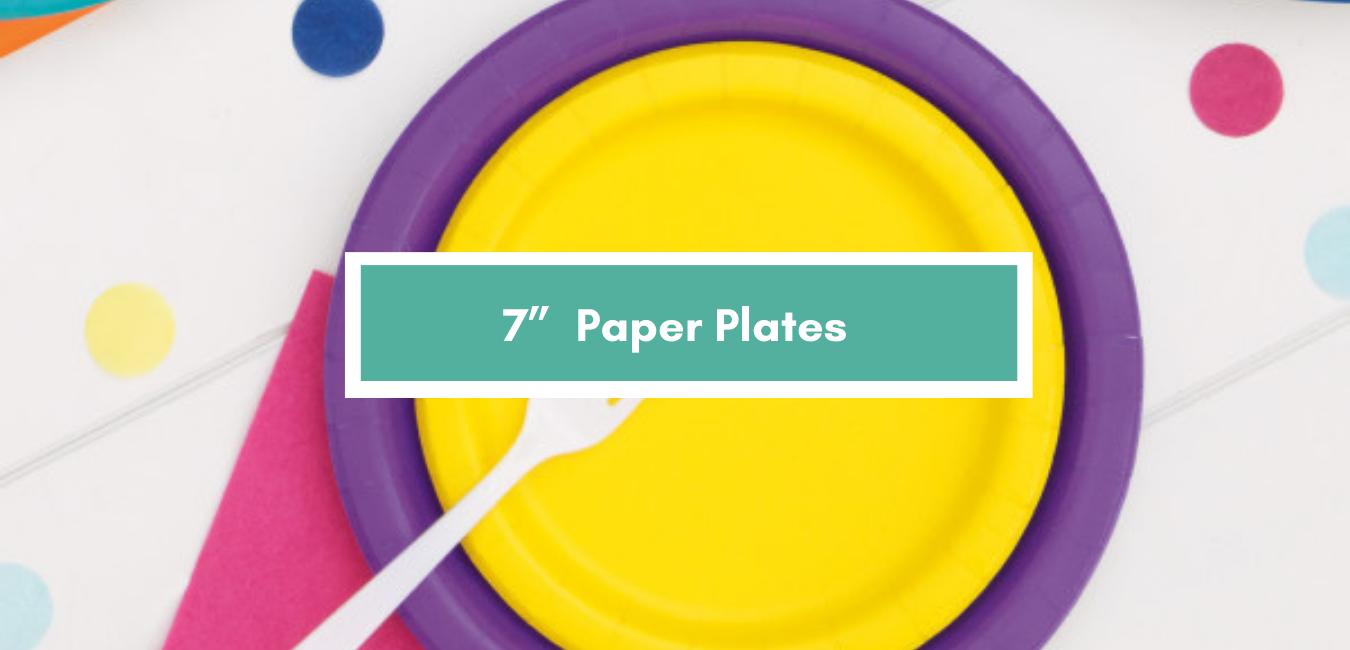 "7"" Round Plates"