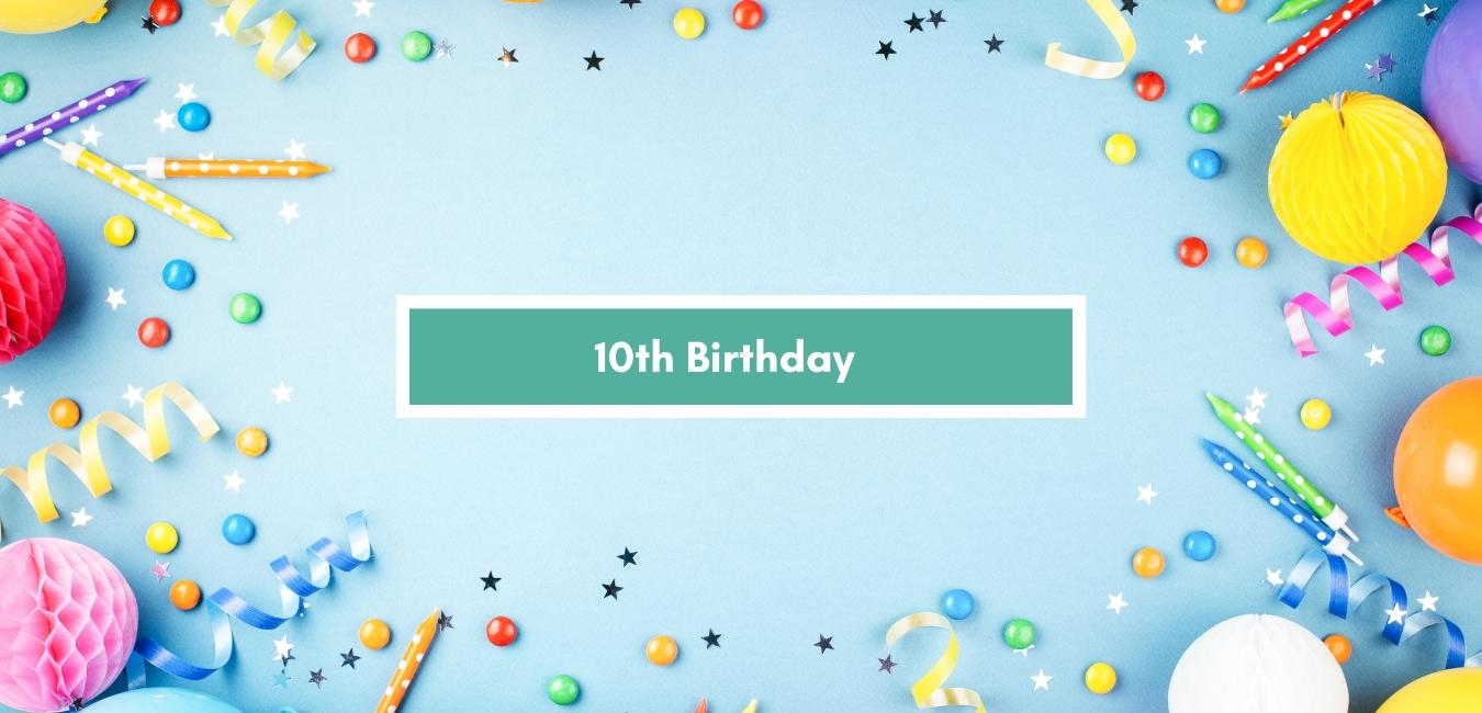Age 10 Balloons