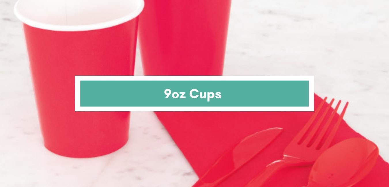 9oz Cups