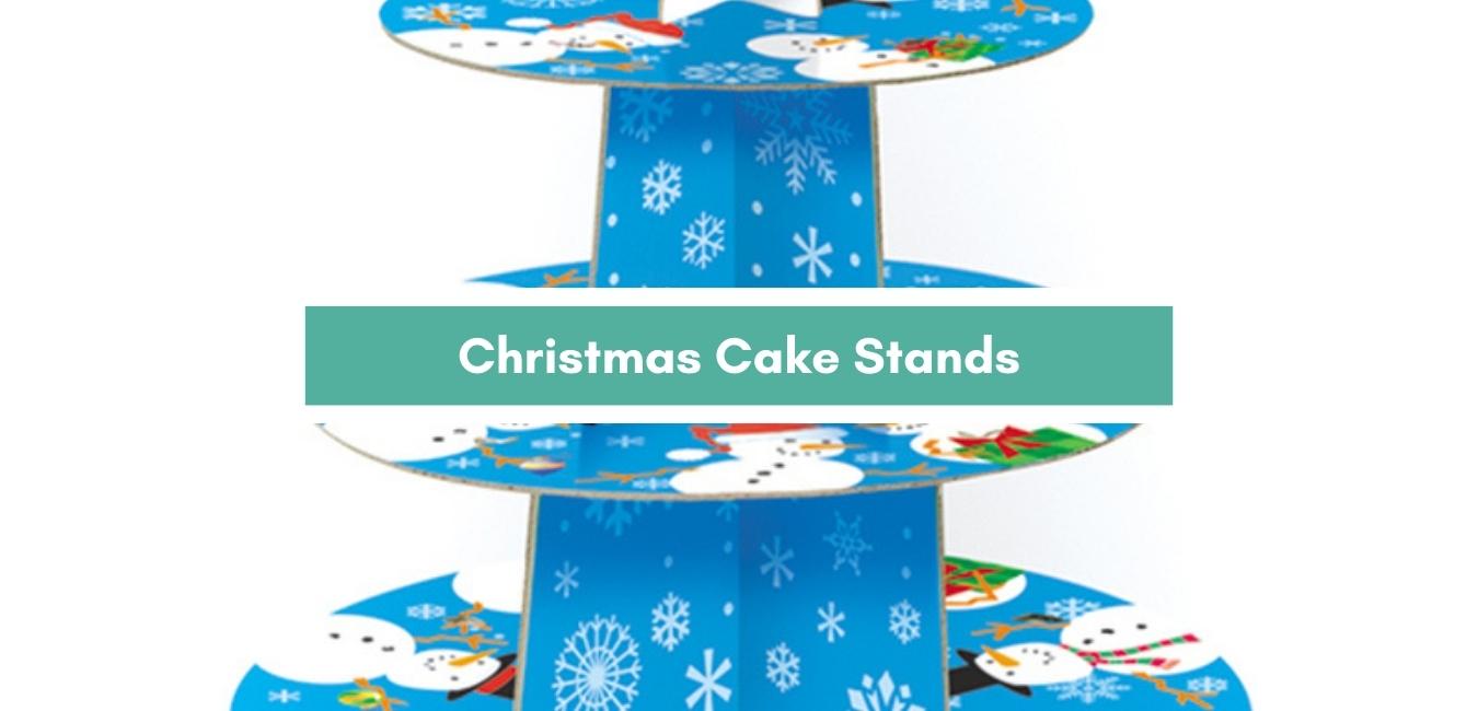 Christmas Cake Stands